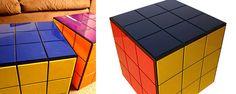 Rubik's Cube Coffee Table