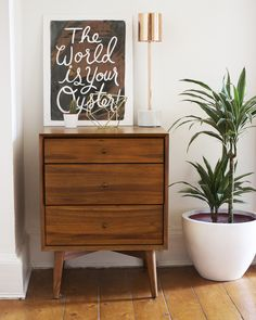 Mid-Century Side Table in Acorn via Gh0stparties