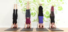 The joy of mindfully doing a headstand. Mastering the mind and the body.