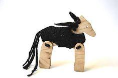 morusa.design / Koník v kožúšku čierny... Moose Art, Animals, Design, Animales, Animaux, Animal, Animais