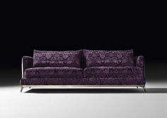 Brando sofa flower velvet