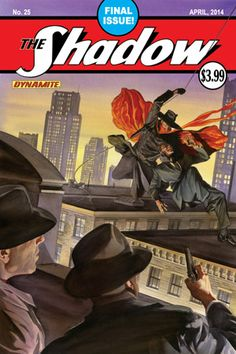 The Shadow publishes its final issue (#25) this April.