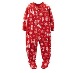Carters Christmas Footie Blanket Sleeper RedWhite 6 Months ** Want additional info? Click on the image.