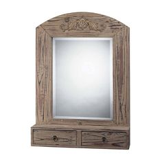 I pinned this Simon Wall Mirror from the Rustic Revival event at Joss and Main!