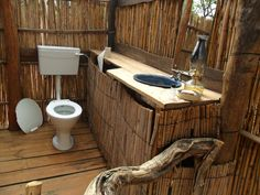 Outdoor bathroom  After having an outdoor bathroom and shower on vacation at the beach, I am definitely putting this is my list of wants.
