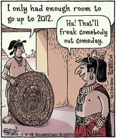 Well this makes me feel better about the end of the world lol