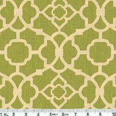 Amazon.com: Waverly Sun N Shade Lovely Lattice Citrine Home Decor Fabric. Could be drapes in my sunroom
