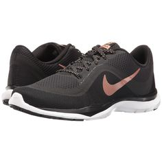 Nike Flex Trainer 6 (Black/Metallic Red Bronze/White) Women's Cross... (1 810 UAH) ❤ liked on Polyvore featuring shoes, athletic shoes, lace up shoes, black lace up shoes, black shoes, crosstraining shoes and nike athletic shoes