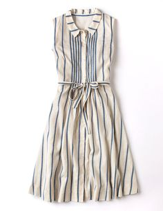 The blue/white colorway of the Monte Carlo dress. Available only from Boden UK. On sale from $51.35 to $98.24 USD