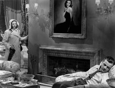 """Gene Tierney & Dana Andrews """"Laura"""" all Time favorite...actress, film...I own it"""