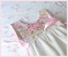 Rose Garden Tea Kitchen Towel Dress   Flickr - Photo Sharing!