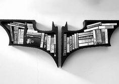 BAT BOOK CASE. Bestt. #BookCase #Batman