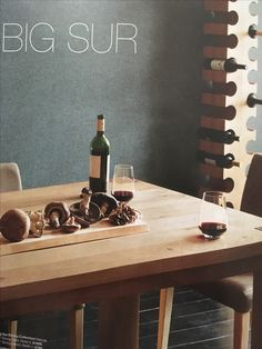 From the crate & barrel catalog, love the wine rack