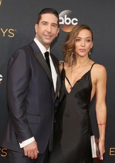 David Schwimmer et Zoe Buckman aux Emmy Awards 2016