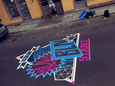 Tapeart for Nike Stadium Berlin on the Behance Network