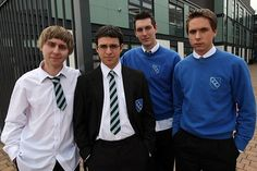 Love Skins?But also feel like the show can be overwhelmingly serious at times? Get ready for some laddish hijinks courtesy of The Inbetweeners. The humor's a bit sophomoric, but just try not to LOL as you watch Will, Simon, Jay, and Neil fumble their way through high school in England.