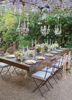 Hier finden Sie über 70 Beispiele für ausgefallene Tischdeko, die Abwechslung in ihren Festen bringen. Hochzeit, Geburtstag - es lohnt sich so zu schmücken! #OutdoorsLiving