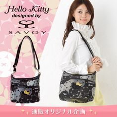 SAVOY × Hello Kitty shoulder bag jacquard Sanrio online shop - official mail order site