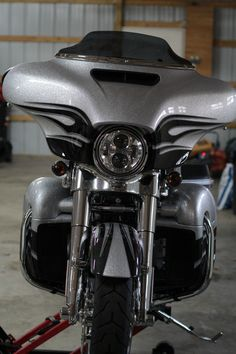 2015 Harley Davidson CVO Street Glide Hard Candy Mercury & Smoke Quartz Flames