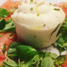 #mozzarella #vegana di #mandorle ! #sanquiricodorcia #valdorcia #foodporn #tuscany