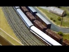 Model Railway n scale layout