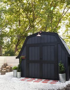 Shed Sneak Peek & Lawn and Garden Tool Giveaway