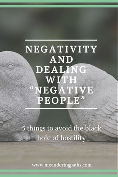 "No one holds ""negative energy"" - it's all in your head. Challenge your negative thoughts about people with these tips on dealing with all the negativity that comes your way."