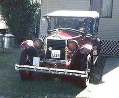 1926 Essex Tourer