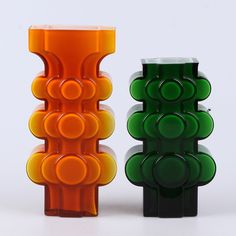 Glas möjligen P-O Ström för Alsterfors interior design. Rounded corners groovy patterns orange with brown there you have it! Mid-century Interior, Interior Decorating, Interior Design, Art Of Glass, Glass Ceramic, Vintage Design, Mid Century Design, Glass Design, Decorative Objects
