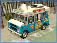 Fresh-Prince Creations - Sims 2 - Chevrolet Ice Cream Truck