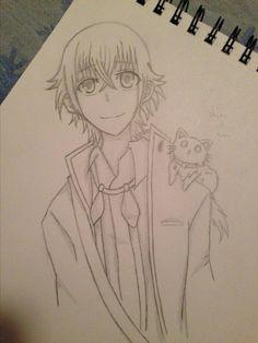 shiro and neko from k project