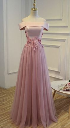 Pink Prom Dresses, Long Evening Dresses, Cheap Pink Long Party Evening Dress 2017 Lace Up Women Formal Prom Gown Pink Party Dresses, Prom Dresses 2018, Tulle Prom Dress, Cheap Prom Dresses, Bridesmaid Dresses, Wedding Dresses, Mauve Prom Dress, Blush Prom, Pink Dress