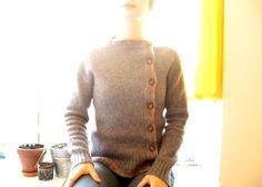 Asymmetrical cardigan
