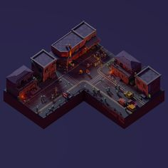 "Ознакомьтесь с моим проектом @Behance: «Voxel art ""Zombie Apocalypse""» https://www.behance.net/gallery/44156139/Voxel-art-Zombie-Apocalypse"
