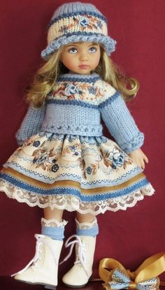 KasatkaDollsFashions - вязаная одежда для кукол
