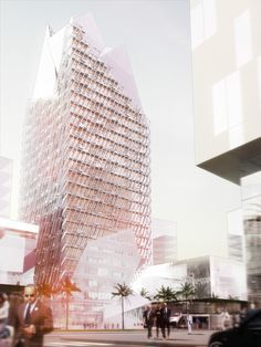 cool Casablanca Finance City Tower | Morphosis Architects Check more at http://www.arch2o.com/casablanca-finance-city-tower-morphosis-architects/