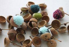acorn diy idea http://weberin.blogspot.ch/2016/09/hallo-herbst.html