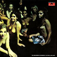 Top Classic Rock Album Covers   Electric Ladyland – Jimi Hendrix   Classic Album Covers