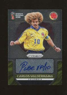 2018 Panini Prizm World Cup Colombia Team Set. For sale is a complete 2018 Panini Prizm World Cup Colombia team set cards). This team set includes all cards from the base set Here is a list of who is in this team set. Soccer Cards, Baseball Cards, Carlos Valderrama, Fifa World Cup, Trading Cards, Colombia Soccer, Sports, Columbia, T Shirts
