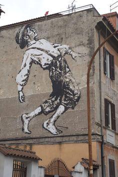 StreetArtRoma: Tom   Jef Aérosol   2014   Zona: Torpignattara   #art #streetart #roma