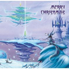 I Saw Three Ships Christmas Card by Rodney Matthews with (or without) CD by Jeff…