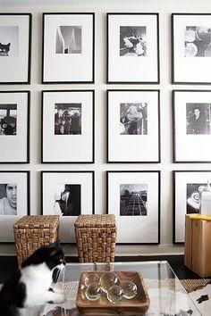 Make it Modern: Black & White Frames || Studio McGee- Wall Decor, Picture Art Gallery