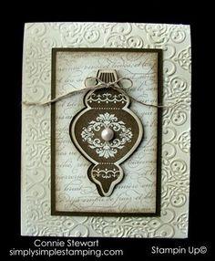 FLASH CARD - Vintage Christmas...Connie Ann Stewart