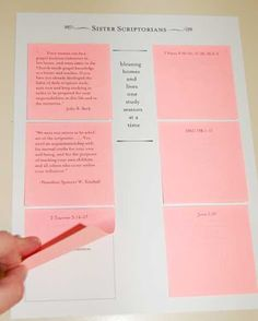 printing handouts on post it notes genius just print out her