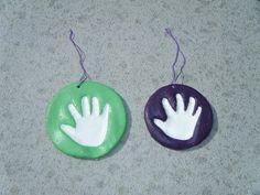 Salt dough handprints ~ Montessori Beginnings