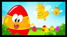 Song about the Bell Eastr Legend: Les oeufs décorés, Kindergarten Activities, Activities For Kids, French Songs, Language School, French Immersion, Educational Videos, Special Day, Tweety, Easter