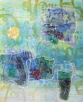 Clair de lune, Gravure, du peintre, SHOICHI, HASEGAWA, Signée et numérotée au crayon
