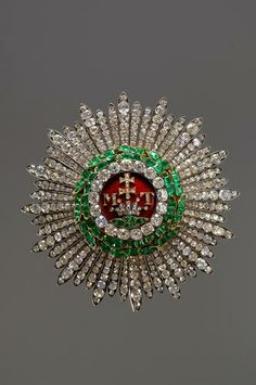 Star of the Hungarian Order of St. Stephen | Joseph and Anton Biedermann | 1 Half of the 19th century |
