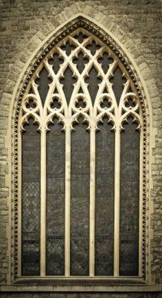 Window of a Medieval Church - Central London, United Kingdom <3