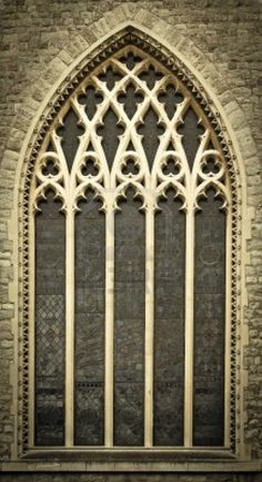 Window of a Medieval Church - Central London, United Kingdom <3